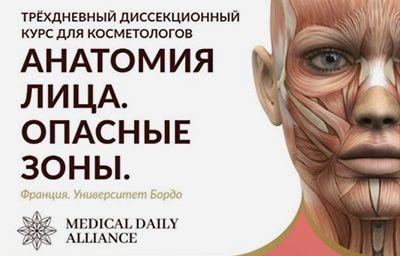 Практика по анатомии лица. Едем в Бордо!